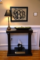 Monogrammed Wall Frame